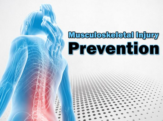 Musculoskeletal Injury Msi Prevention Package Service