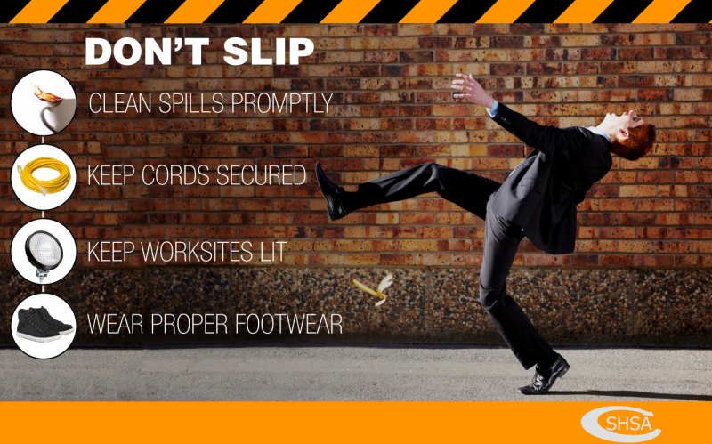 Slip Trip And Fall Prevention Package Shsa