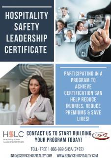 Hospitality Safety Leadership Certificate Program | Service Hospitality